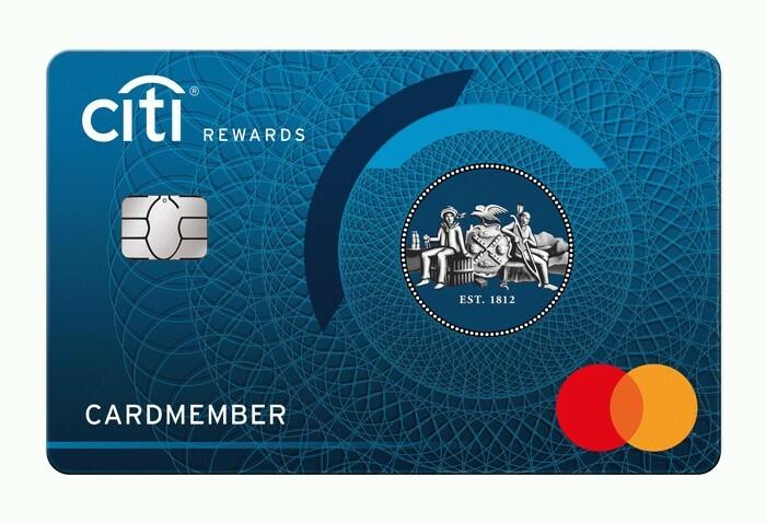 Citi Rewards Kreditkarte von Citi Citi Rewards Kreditkarte